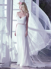 Maggie-Sottero-cropped top