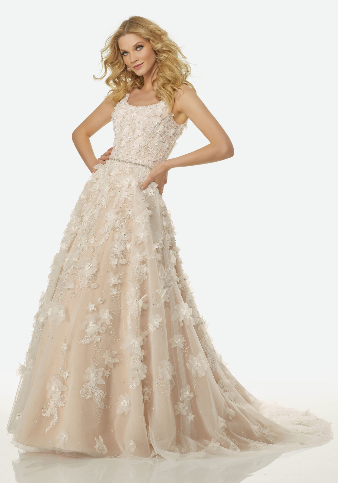 Trouwjurk Blush.Randy Fenoli Bridal Trouwjurken New Styling