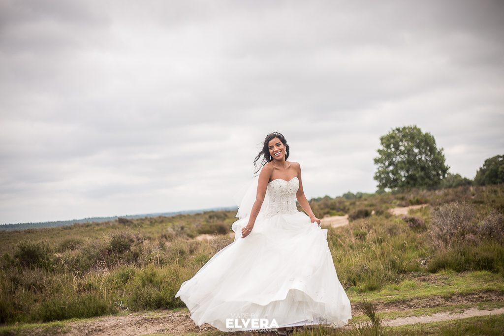 Esmeralda trouwjurk