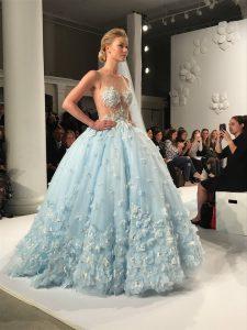 RF3424 Brandi Randy Fenoli Bridal collectie light blue trouwjurk bruidsjurk Nederland