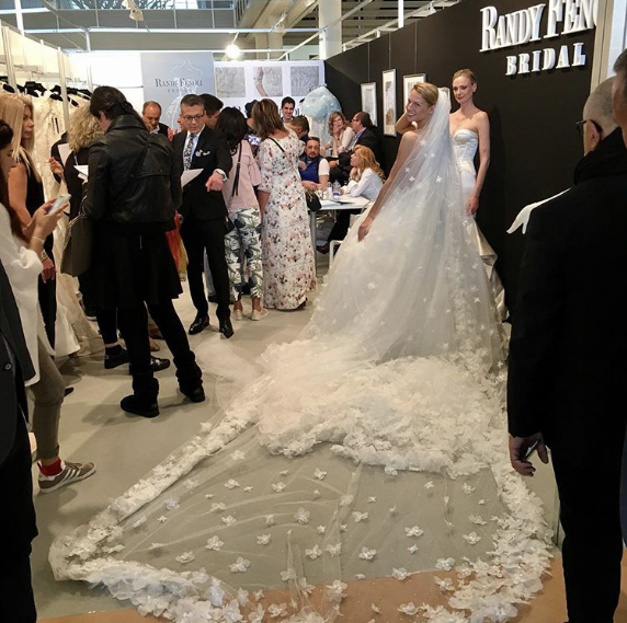 Randy Fenoli Bridal Barcelona Bridal Week bruidsmode collectie trouwjurken bruidsjurken