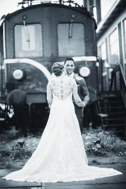 Trouwjurk bruid Daphne bruidsjurk