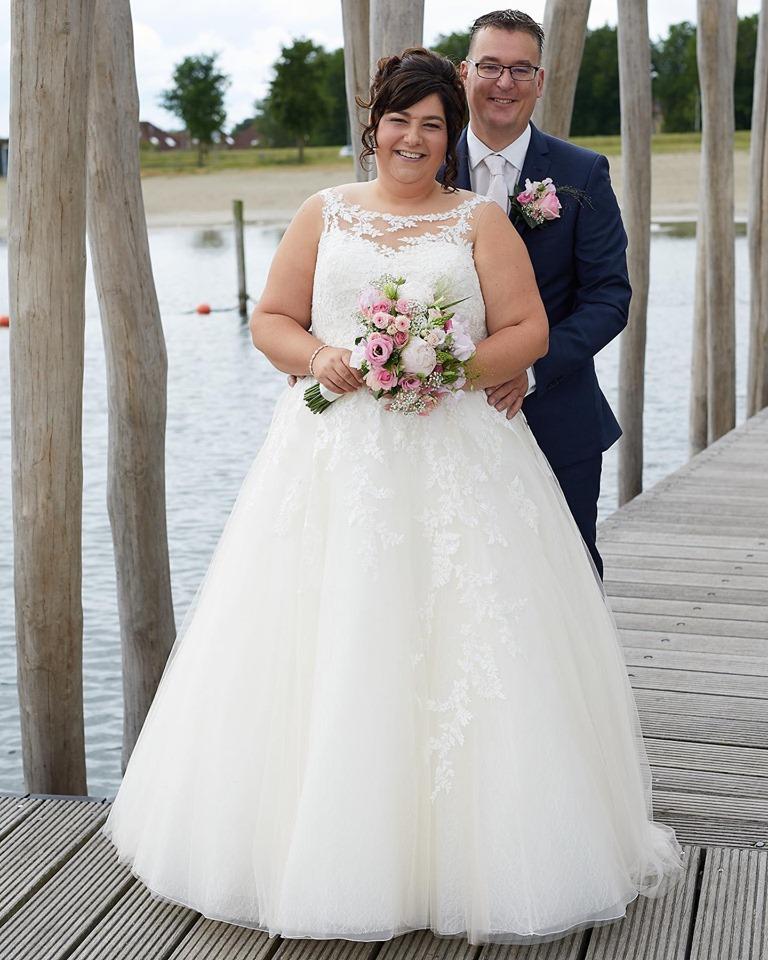 Bruidsjurk Enzoani bruid Chantal