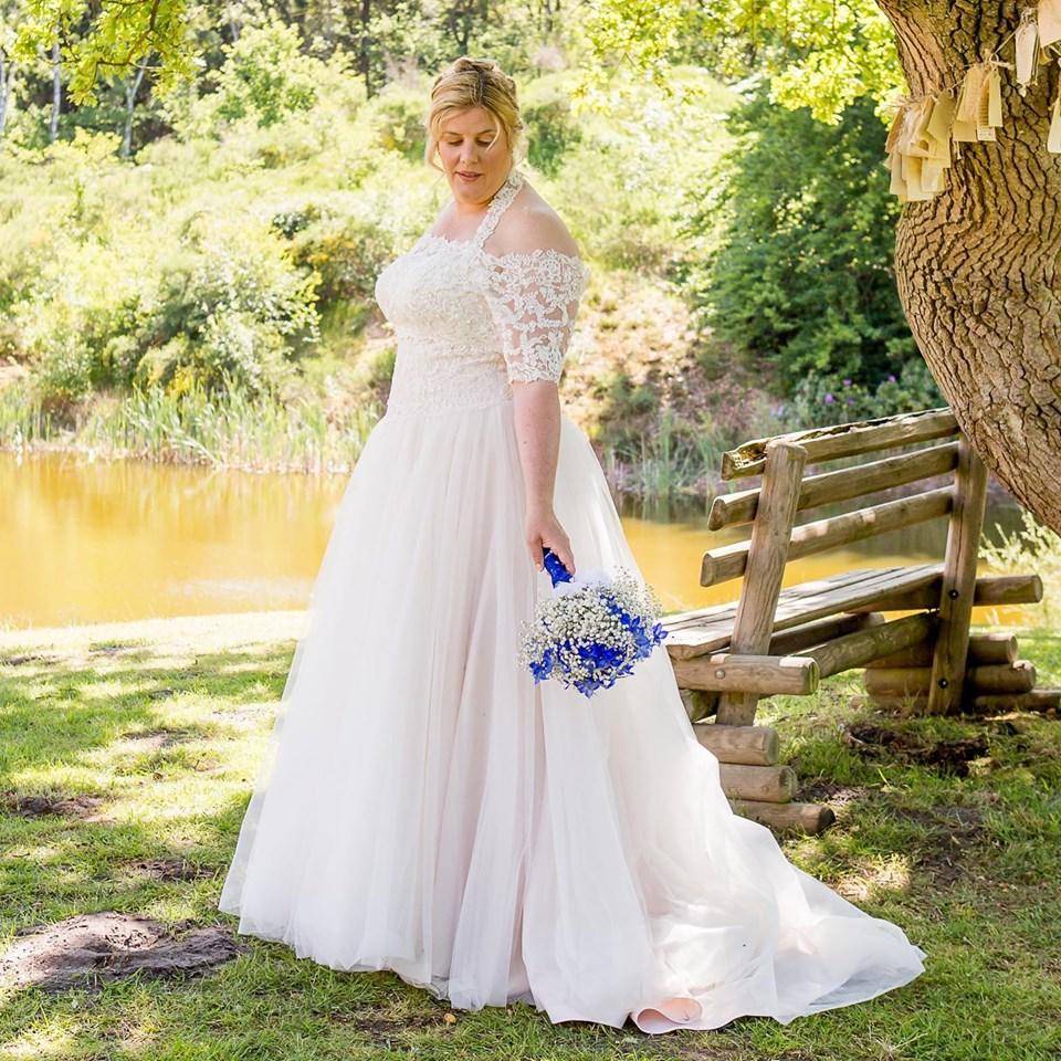 Trouwjurk sincerity bruid Rosa